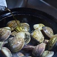 【深夜食堂】酒蒸蛤蜊的做法图解5