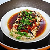 开胃下饭菜,剁椒金针菇的做法图解6