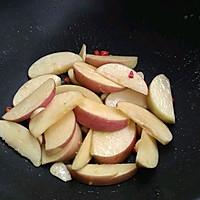 #美食新势力#椰浆苹果虾的做法图解9