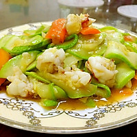 鲜虾瓜片的做法图解7