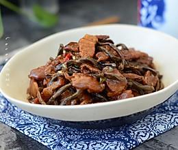 干豆角炖五花肉#花家味道#的做法