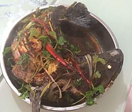 清蒸石斑鱼(老虎斑)的做法