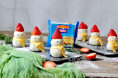 土豆泥雪人
