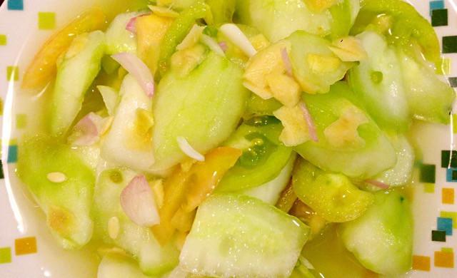 菲式黄瓜沙拉(咸)