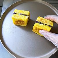 #好吃不上火#紫薯芋泥西多士的做法圖解13