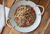 低脂主食代餐凉拌荞麦面!酸辣爽口,开胃下饭的做法