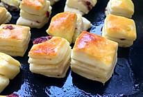 蔓越莓优格面包块的做法