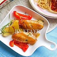在家也能做出西餐厅的浓香鸡翅