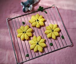 香煎玉米桃花馍的做法