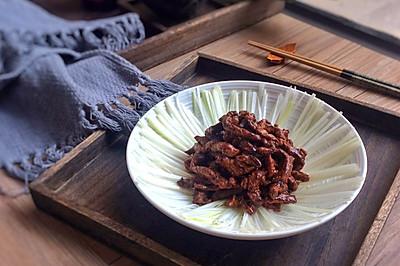 简易版本之京酱肉丝