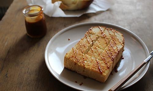 轻松下午茶--蜂蜜煎吐司--利仁电饼铛试用报告的做法
