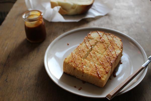 轻松下午茶--蜂蜜煎吐司--利仁电饼铛试用报告