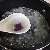 紫薯银耳冰粥#七彩七夕#的做法图解5