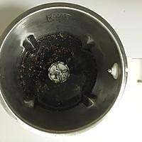 芝麻黑豆浆#苏泊尔真磨醇浆机#的做法图解4