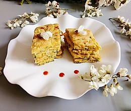 应季槐花饼的做法