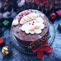 圣诞老人蛋糕#柏翠辅食节—烘焙零食#