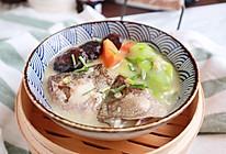 鲈鱼丝瓜浓汤(一鱼两吃之二)的做法