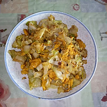 蛋炒圆白菜