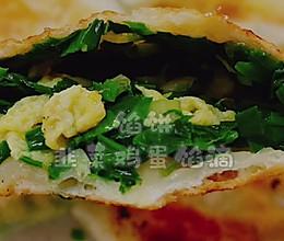 #肉食主义狂欢#韭菜鸡蛋馅饼的做法