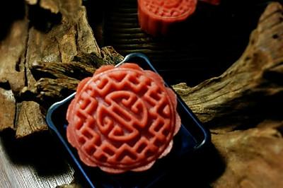 #三星品道家宴#桃山皮月饼