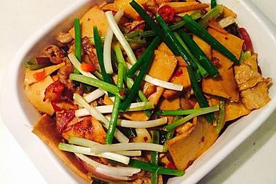 干锅千页豆腐