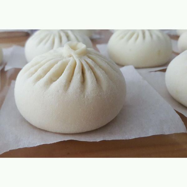 蒜蓉酱肉包(附详细捏包子法)的做法