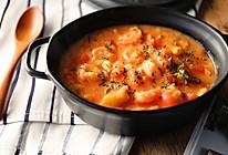鲜虾番茄疙瘩汤的做法