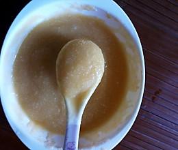 苹果胡萝卜米糊的做法