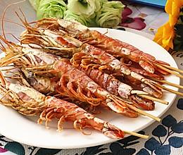 烤阿根廷红虾的做法