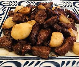 黑椒蒜籽烧牛肉粒