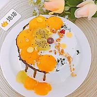 六寸芒果生日蛋糕蒸蛋糕的做法图解10