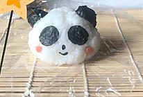 好好吃的小熊猫饭团寿司卷的做法