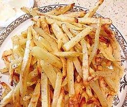 空气炸锅版薯条的做法