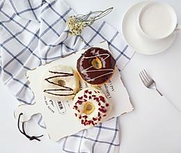 【烤箱版】甜甜圈面包的做法