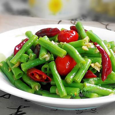 双椒拌豇豆