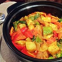 蔬菜蒸粗麦粉--塔吉锅菜谱的做法图解13