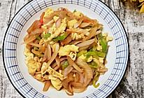 #少盐饮食 轻松生活#洋葱尖椒丝炒鸡蛋的做法
