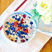 一分钟就好的燕麦早餐#花10分钟,做一道菜!#