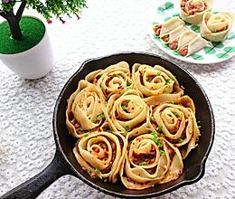 好看又好吃的《花式玫瑰煎饺》,据说这才是饺子的正确打开方式的做法