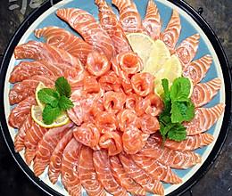 #梅太厨房#三文鱼刺身的做法