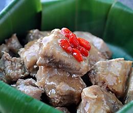 粽香蚝油蒸排骨的做法