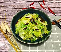 辣炒手撕包菜的做法