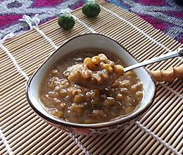 陈皮冰糖绿豆粥的做法
