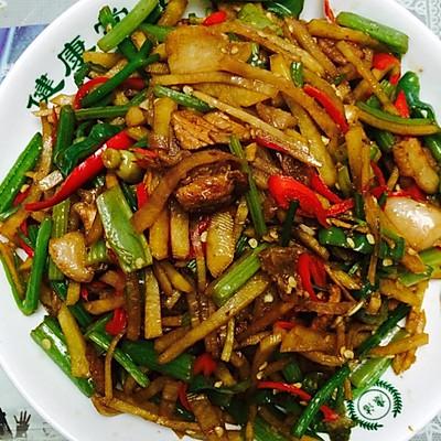 芹菜炒土豆