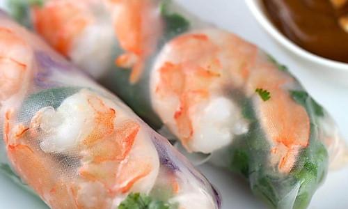 越南春卷+蘸酱的做法