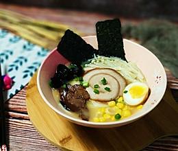 #肉食者联盟#日式豚骨拉面的做法