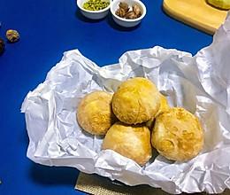 #多力金牌大厨带回家#可可绿豆酥的做法