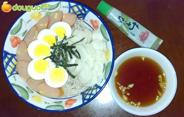 日式荞麦面(华丽版)的做法