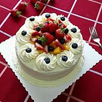 水果奶油裱花蛋糕(八寸超详细版)#豆果5周年#的做法图解29