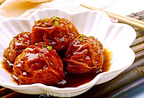 红烧油面筋塞肉~~超级下饭菜的做法